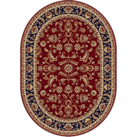 7 X 9 Oval Area Rugs by Tayse Rugs Sensation 6 Ft 7 In X 9 Ft 6 In Oval