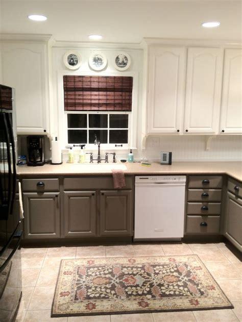 Two Tone Kitchen Cabinets Best 25 Two Toned Cabinets Ideas On Pinterest Two Tone Cabinets Two Tone Kitchen Cabinets