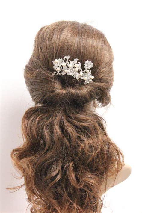 Vintage Wedding Hair Pieces by Wedding Hair Comb Flower Bridal Hair Accessory Vintage