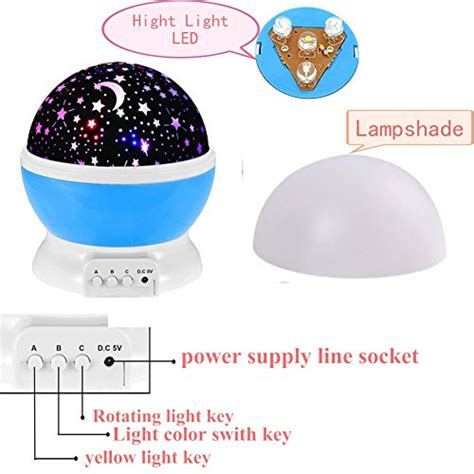 best light color for sleep 360 degree rotating galaxy led night lighting l color