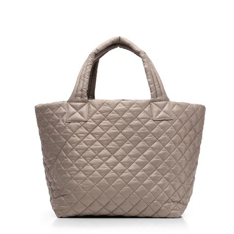 Handbag Of The Week Signature Oxford Tote by Lyst Mz Wallace Taupe Oxford Small Metro Tote In Brown