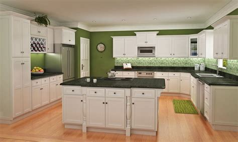 White Shaker Kitchen Cabinets by White Shaker