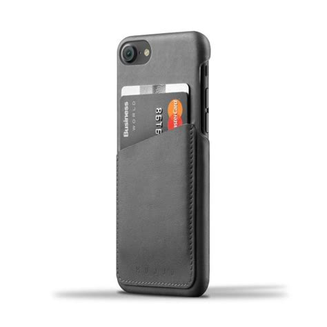 Dompet Kartu Kulit Soft Leather Kualitas leather wallet for iphone 7 gray gelora