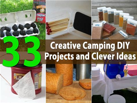 top diy projects top 33 most creative cing diy projects and clever ideas