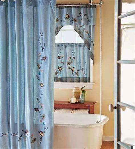 Bathroom Window Curtains With Matching Shower Curtain Shower Curtain With Matching Window Curtain Shower Curtain