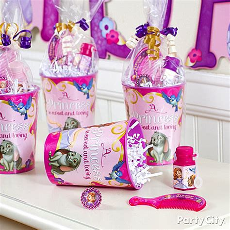 sofia the first party ideas party city - Sofia The First Birthday Giveaways