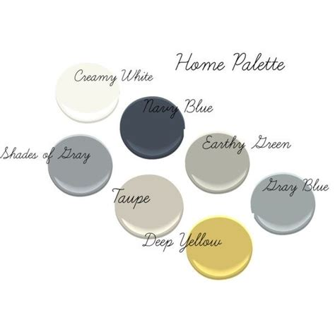 our home palette simply white hale navy fieldstone half moon rp paint