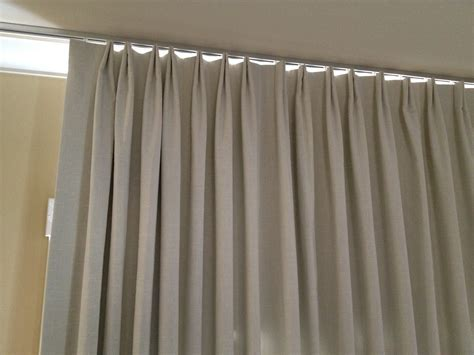 ceiling track curtains parisian pleat curtain on ceiling track le window