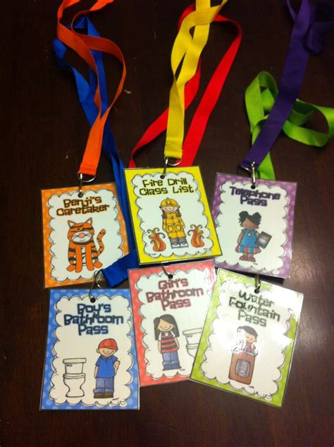 bathroom pass ideas first grade garden hall pass freebies and where are we