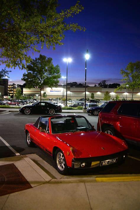 porsche night porsche 914 at night atlanta streets cars pinterest