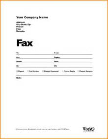 Cover Letter Template Pages by 7 Blank Fax Cover Sheet Template Word Cashier Resumes
