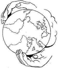 coloring pages of the world in god s hands building a more evangelical world