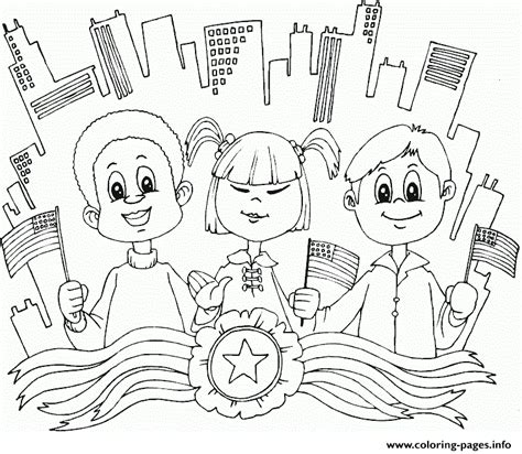 diverse kids usa diversity cultural coloring pages printable