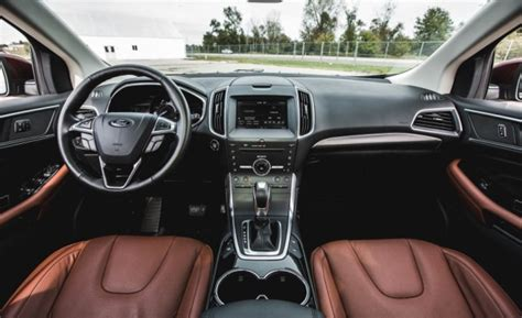 Ford Edge Interior Colors by 2017 Ford Edge Colors Review 2018 New Suv