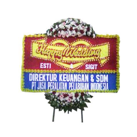 Harga Bunga Papan Happy Wedding by Bunga Papan Suka Cita Murah Harga 500 Ribu