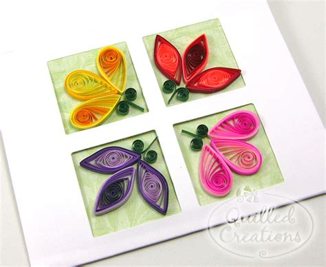 How To Make Flowers With Paper Quilling - 17 best photos of simple cards for paper quilling designs