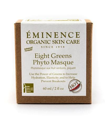Eminence Handmade Organic Skin Care - eminence eight greens phyto masque 2 fl oz 60ml fresh