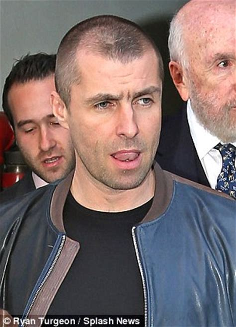 Liam Gallagher comes face to face with former lover Liza