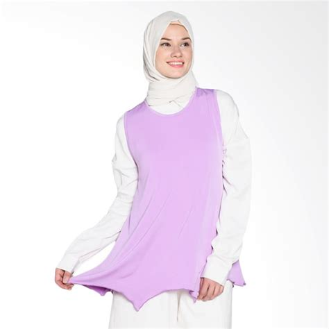 Atasan Wanita Gf Nia Blouse harga jv hasanah sabrina top atasan muslim wanita violet
