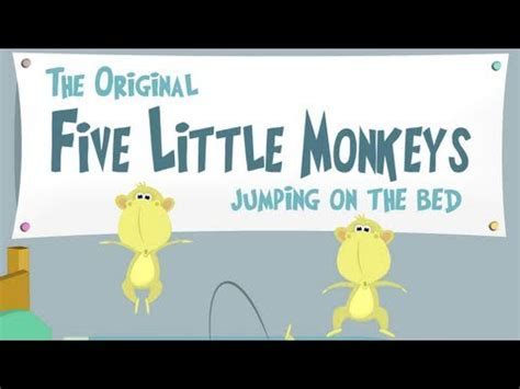 monkeys jumping on the bed song five little monkeys wmv vidoemo emotional video unity