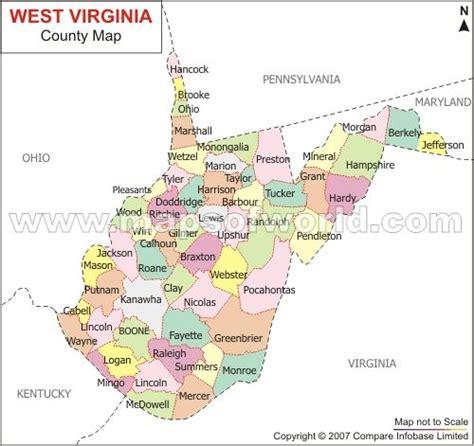 west virginia county map west virginia county map beautiful west virginia