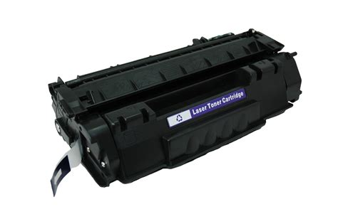 Toner Q7553a hp 53a black toner cartridge q7553a remanufactured