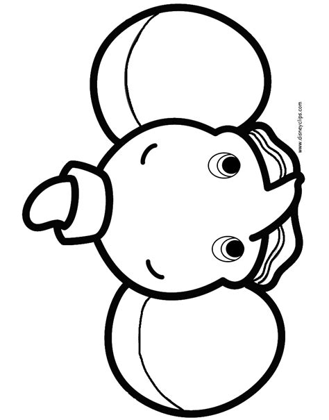 disney cuties printable coloring pages disney coloring book