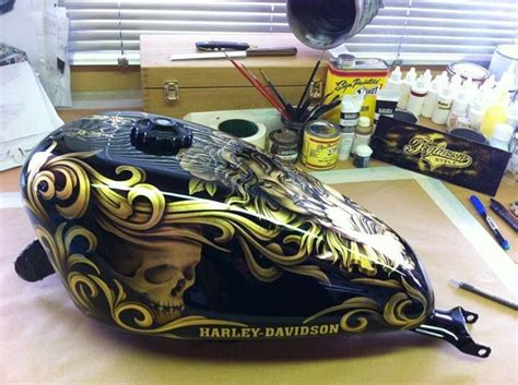 motorcycle tank paint righteous rides