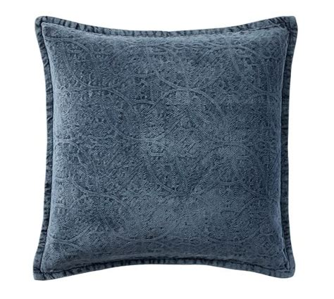 Chenille Pillow Cover by Chenille Jacquard Pillow Cover Pottery Barn