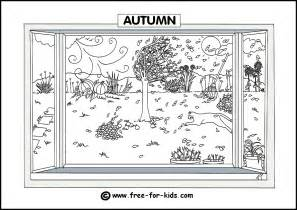 free coloring pages seasons