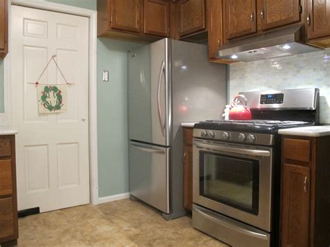 kitchen layout fridge next to oven uncategorized our new kitchen page 2