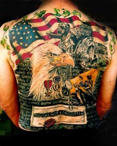 tattoo of us best 55 heroic american flag tattoos