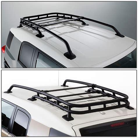 Fj Cruiser Without Roof Rack by 07 14 Toyota Fj Cruiser Black Coated Aluminum Roof Rack