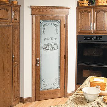 Frosted Pantry Door Etched Glass Kitchen Glass Pantry Etched Glass Pantry Doors Kitchen
