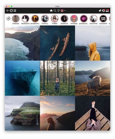 layout instagram desktop grids experience instagram in beautiful way on your desktop