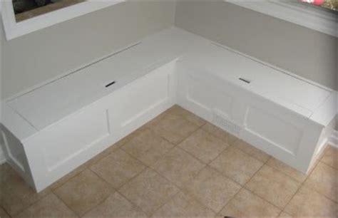corner storage bench seat diy