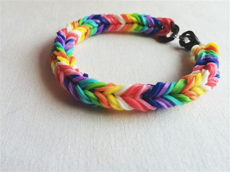 Small Rubber Band Bracelets by Easy Make Rubber Band Braceletmade Peachy
