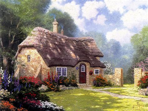kinkade cottage paintings 301 moved permanently
