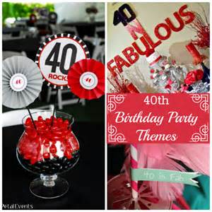 40th birthday parties catchmyparty com