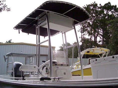 boat t top florida custom aluminum t tops for boats in citrus county florida