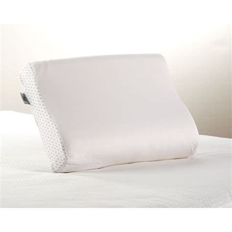sealy memory foam bed pillow sealy memory foam contour bed pillow boscov s