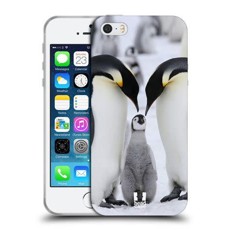 Iphone 5 5s Se Soft Jelly Cover Bumper Silikon Tpu Casing Lucu designs wildlife soft gel for apple iphone 5 5s se