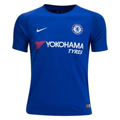 Jersey Bola Team Chelsea Home Official 17 18 Grade Ori nike chelsea youth home jersey 17 18 a1002794 25 00