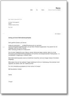 antrag auf erstausstattung wohnung antrag auf einen behindertenparkplatz ch musterbrief