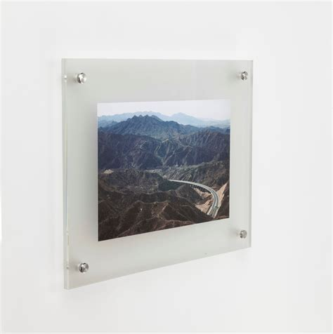 Acrylic Poster wall mounted acrylic poster holder