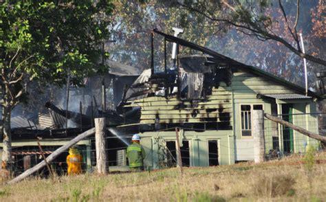 mark burnett house fire home destroyed by fire southburnett au