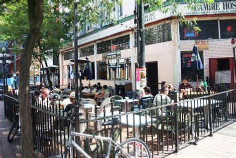 Patio Downtown by Best Patios In Gastown 2015