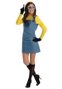 Womens Halloween Costumes Women S Female Minion Costume
