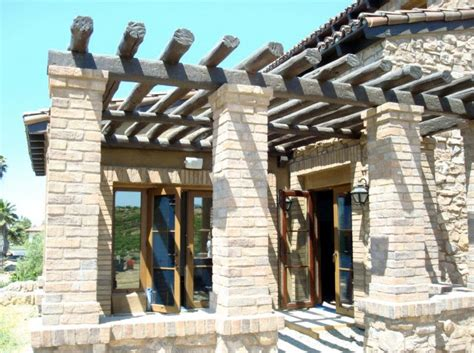 tuscan pergola 1000 images about tuscan curb appeal on pinterest