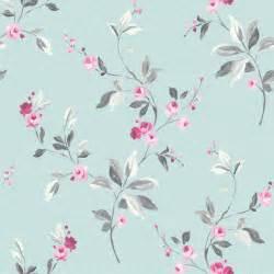 flower wallpaper duck egg flower wallpaper floral tivoli rose duck egg blue pink